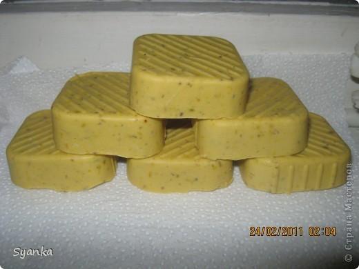 Детское мыло, молоко, мёд Лавандовый с лепесткамы календулы. Облепыховое и Оливковое масла. фото 2