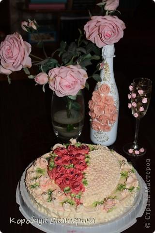 Тортик для внучки!