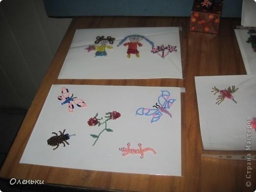 У дочери в школе проходила выставка детских работ. Вот хотели показать и Вам, какой творческий детский народ!  фото 5