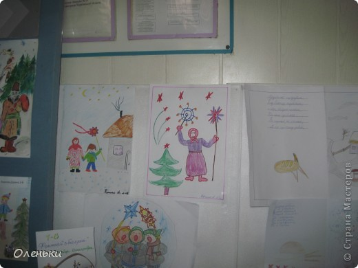 У дочери в школе проходила выставка детских работ. Вот хотели показать и Вам, какой творческий детский народ!  фото 11