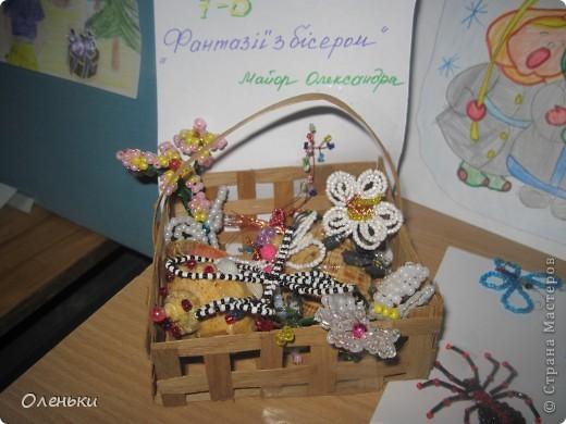 У дочери в школе проходила выставка детских работ. Вот хотели показать и Вам, какой творческий детский народ!  фото 8