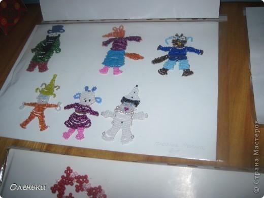 У дочери в школе проходила выставка детских работ. Вот хотели показать и Вам, какой творческий детский народ!  фото 10