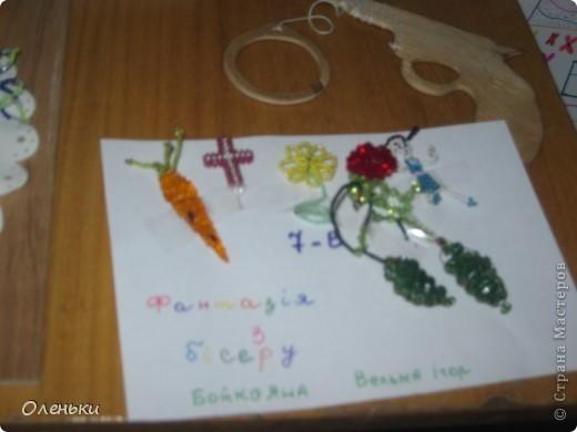 У дочери в школе проходила выставка детских работ. Вот хотели показать и Вам, какой творческий детский народ!  фото 14