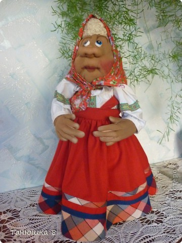 Моя первая кукла  Маня