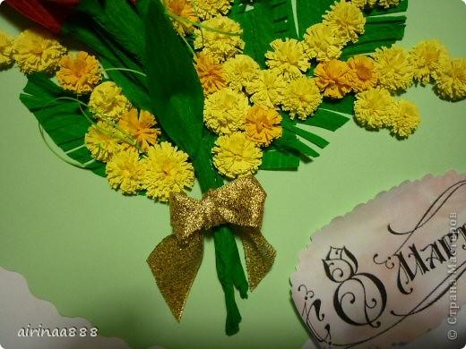 Поздравительная открытка к 8 марта фото 3