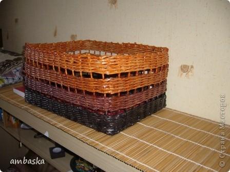 Использовала четыре оттенка краски: оригон, смесь оригон+орех, орех, в четвертый добавила темно-коричневый колер. фото 1