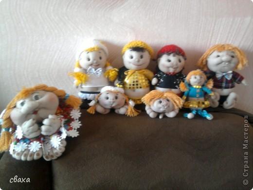 мои первые кукла-попики