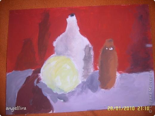 Это моя доча на фоне своего портрета,рисовал её известный у нас художник Гунарс Эзерниекс. фото 5