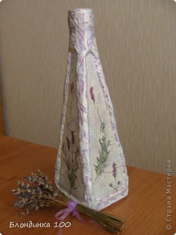 Нравится декорировать бутылки такой формы и, по-моему не только мне. фото 2
