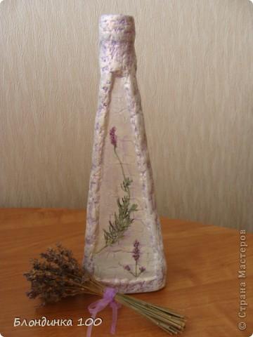 Нравится декорировать бутылки такой формы и, по-моему не только мне. фото 5