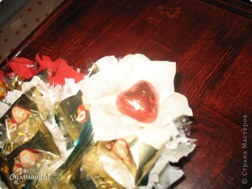 Сладкие Сердца (букет из конфет) фото 3