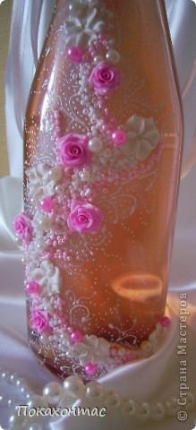 """Эту бутылочку я назвала """"Вальс цветов"""". Глядя на неё у меня в голове звучит почему-то именно он:) фото 3"""