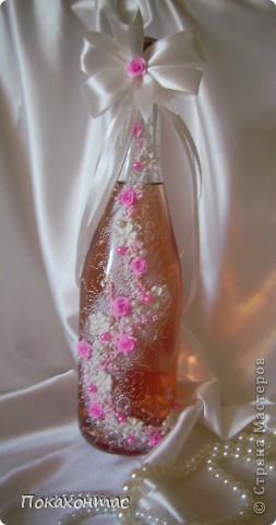 """Эту бутылочку я назвала """"Вальс цветов"""". Глядя на неё у меня в голове звучит почему-то именно он:) фото 4"""
