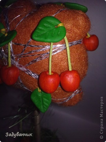 Оранжевые деревца фото 7