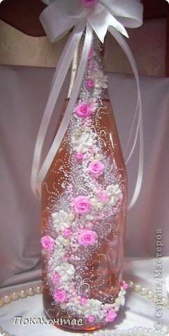 """Эту бутылочку я назвала """"Вальс цветов"""". Глядя на неё у меня в голове звучит почему-то именно он:) фото 1"""