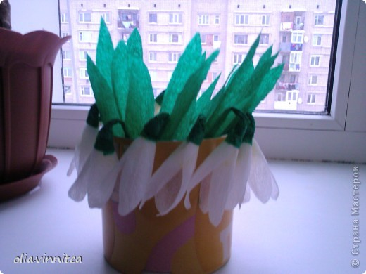 Вот такие цветочки ушли в садик на утреник к празднику 8 марта фото 3