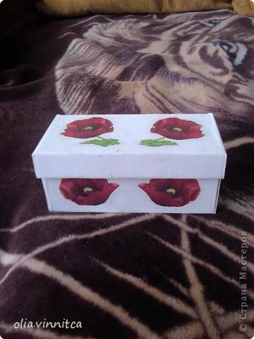 Вторая жизнь коробки из-под обуви!!! фото 1