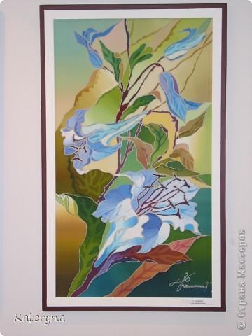 В нашем городе подходит к концу выставка работ удивительно талантливой женщины,художника Ольги Калининой. Хочу познакомить и вас,уважаемые гости и жители Страны Мастеров,с этими чудесными работами. Желаю приятного просмотра! фото 17