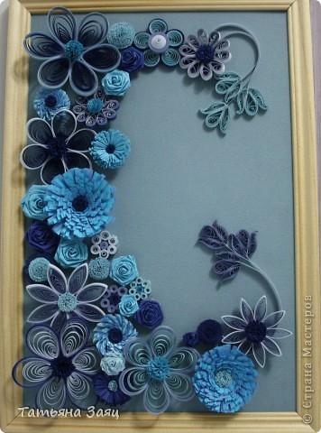 Микс из синеньких цветочков. фото 1