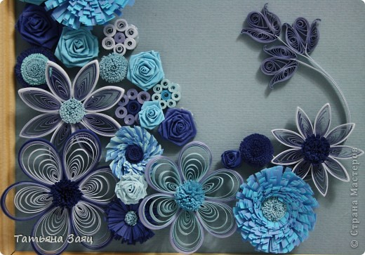 Микс из синеньких цветочков. фото 3