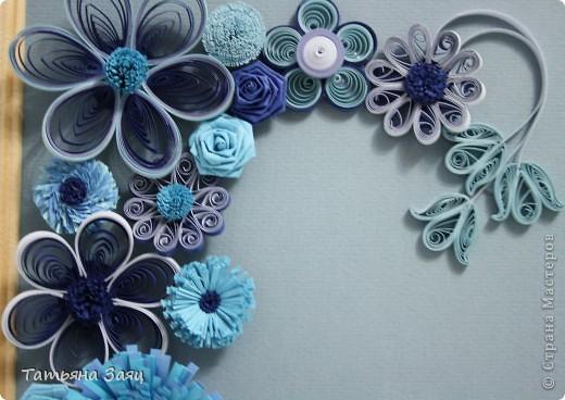 Микс из синеньких цветочков. фото 4
