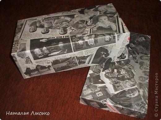 Для старых фотографий я сделала вот такую коробочку. Простенько, но смотрится оригенально.... фото 3