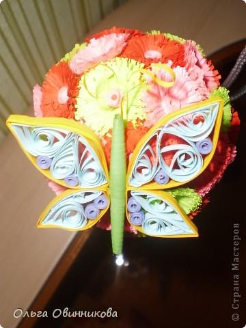 бабочку и цветочек делала моя дочь Кристинка фото 3