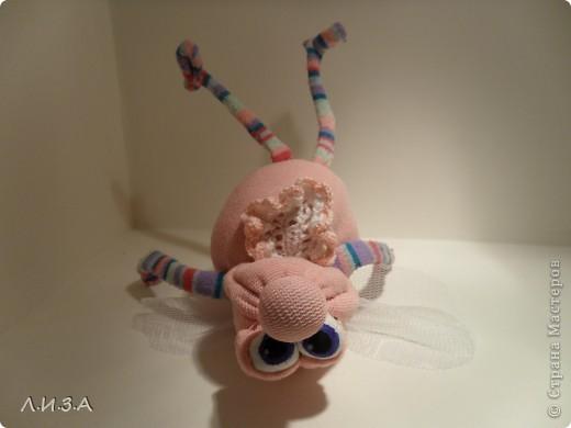 Сделан из детских колготок. Глазки нарисованы: Гуашь + Клей ПВА. фото 3