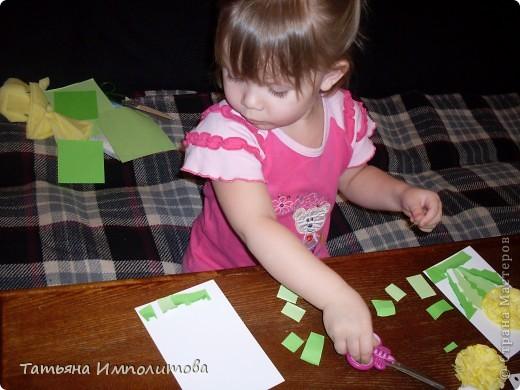 Этой открыткой София(3,2г)поздравила тётю с Днём рождения фото 14