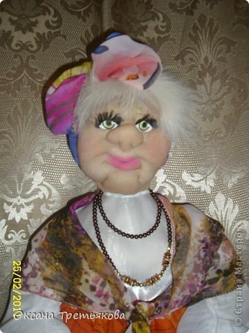 Куклы Шитьё Пакетница Капрон фото 2