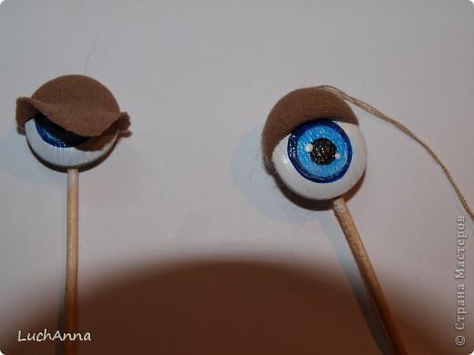 Как на ткани сделать глазок 64