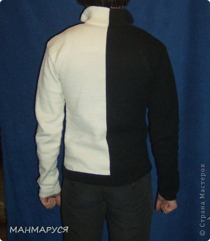 свитер авторская работа фото 2
