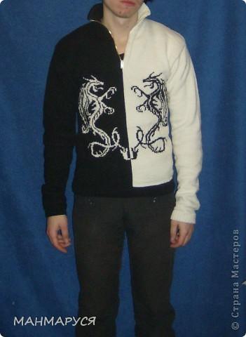 свитер авторская работа фото 1