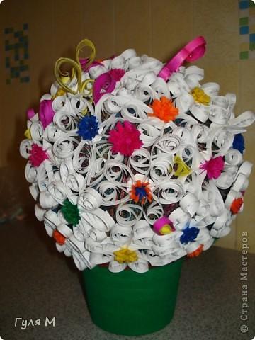 """наш первый """"цветочный шар"""""""