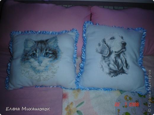 Вот такие подушечки для нашей Катюшечки))) фото 1