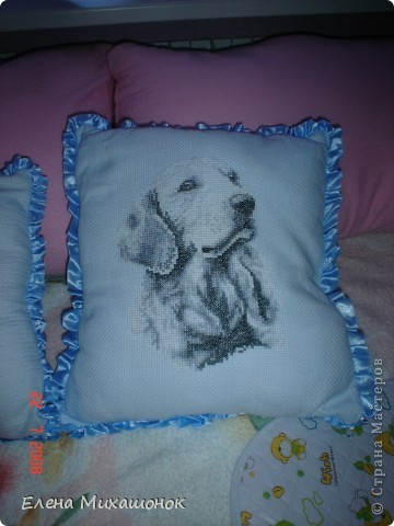 Вот такие подушечки для нашей Катюшечки))) фото 4