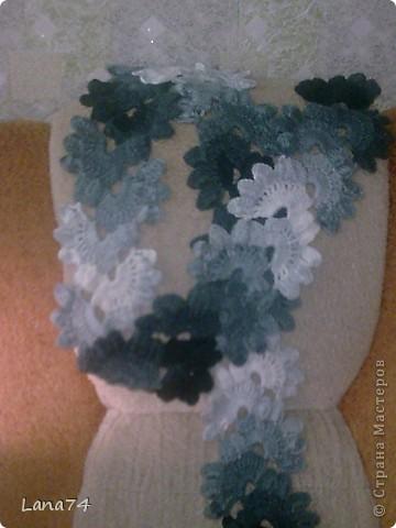 Подарок бабушке (серенькая шаль) фото 5