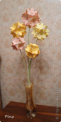 Вот такой букетик у меня получился ^_^ Огромное спасибо за идею Евгеше ( http://stranamasterov.ru/node/143987 )! фото 3