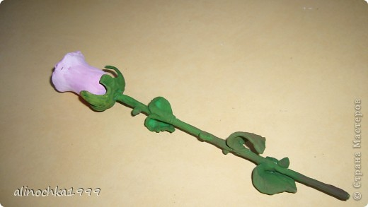 мои первые розы из холодного фарфора фото 1