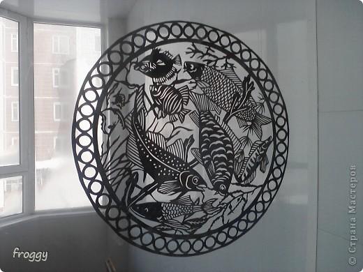 Рыбки+Шаблон фото 1