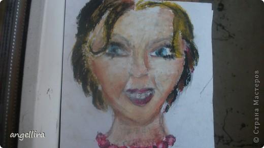 Доча рисовала мелками! живьем вообще цвета очень красивые! фото 2