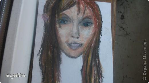 Доча рисовала мелками! живьем вообще цвета очень красивые! фото 1
