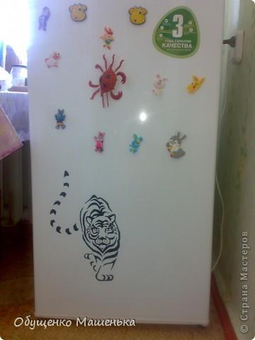 жилец с холодильника! фото 1