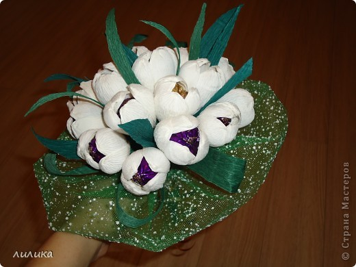 Белые тюльпаны. фото 2