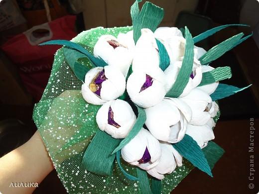Белые тюльпаны. фото 1