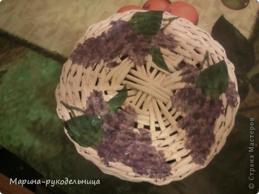 Наконец-то и я сплела себе круглую коробочку! Очень захватывает сам процесс плетения круга. фото 5
