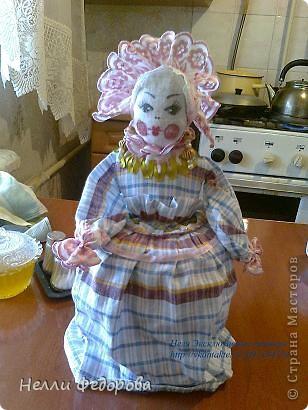 Кукла на заварник для свекрови.