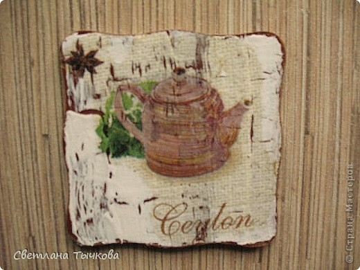 набор подставочек для чайной церемонии фото 5