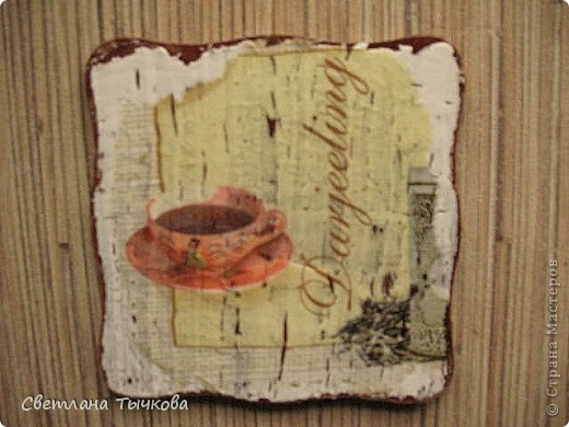 набор подставочек для чайной церемонии фото 7