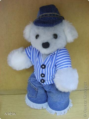 А наш Мишка  носит джинсы! фото 1